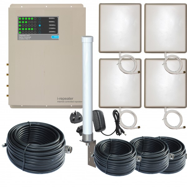 iR-5 SHIP | Ethernet Repeater-O-4P | MarineBoost 5.4 Set