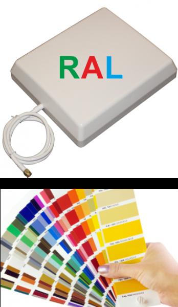Innenpanelantenne in RAL Farbe | 6,5 / 9,4 dBi mit Kabel