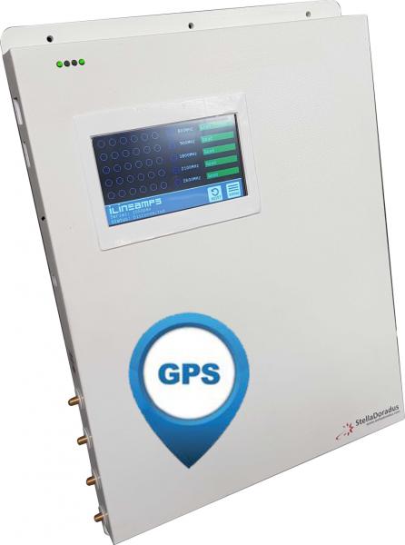 iR-5 - Repeater + GPS | 5 Band - 4 Antennenanschlüsse - Touchscreen - Netzwerkschnittstelle