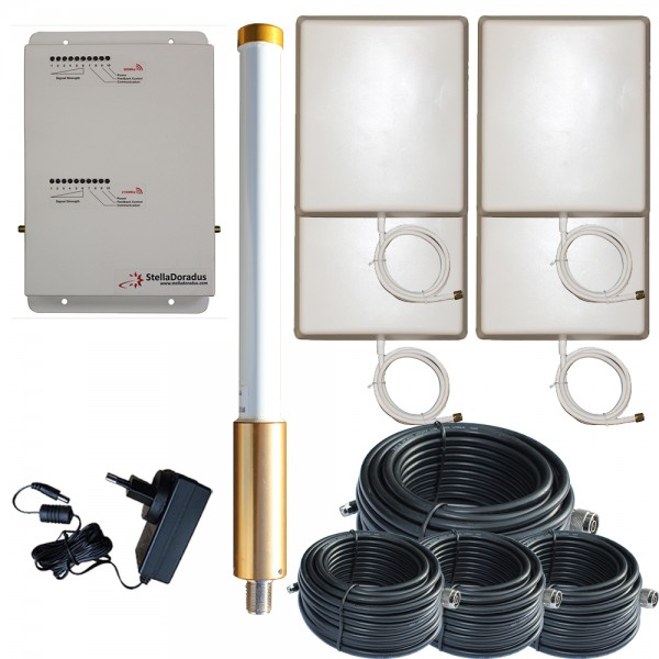 SD-RP-1002-LG-O-4P | MarineBoost 2.4 - Repeater Set
