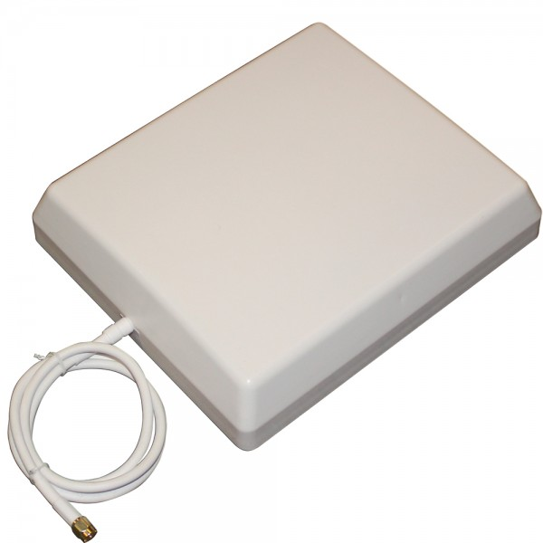 Außenpanelantenne 6,5 / 9,4 dBi mit Kabel