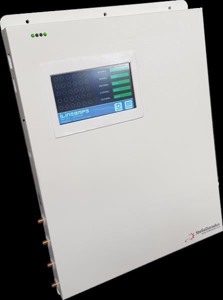 iL-5-Line Amplifier | 4 Antennenanschlüsse - Touchscreen - Netzwerkschnittstelle